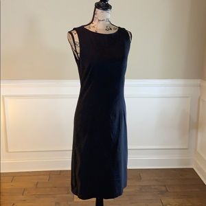 Boston Proper Tailor NY Black Sleeveless Dress